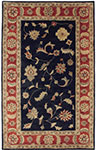 Dynamic Rugs Charisma 1401-090 Blk Rd Area Rug