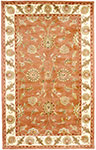Dynamic Rugs Charisma 1405-200 Rust Ivory Area Rug