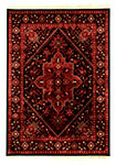 Dynamic Rugs Crown 16226-090 Red Black Area Rug