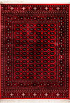 Dynamic Rugs Crown 16227-336 Red Area Rug