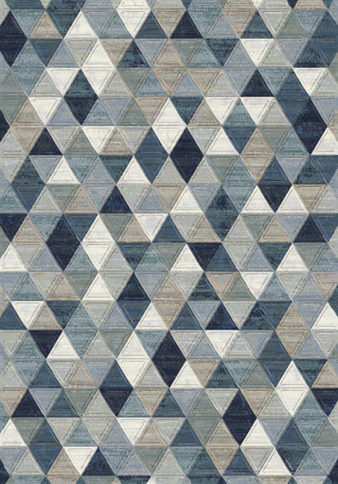 Eclipse 63263 5161 Multi Blue Area Rug By Dynamic Rugs