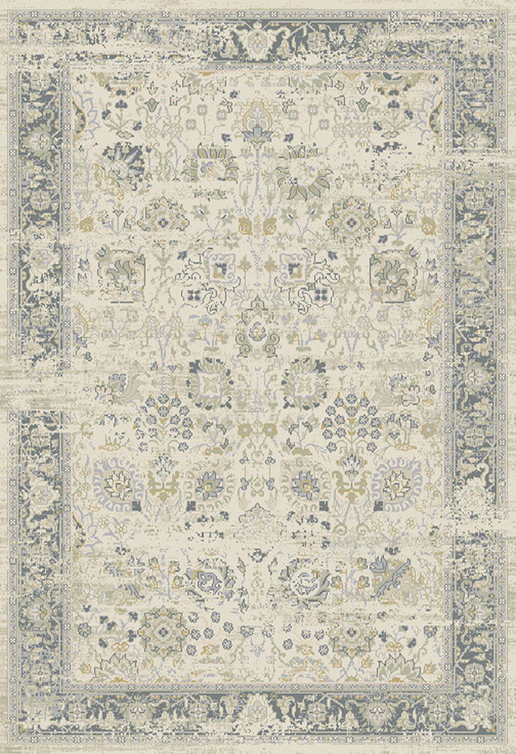 Dynamic Rug Essence 55870 190 Ivory Light Grey Area Rug