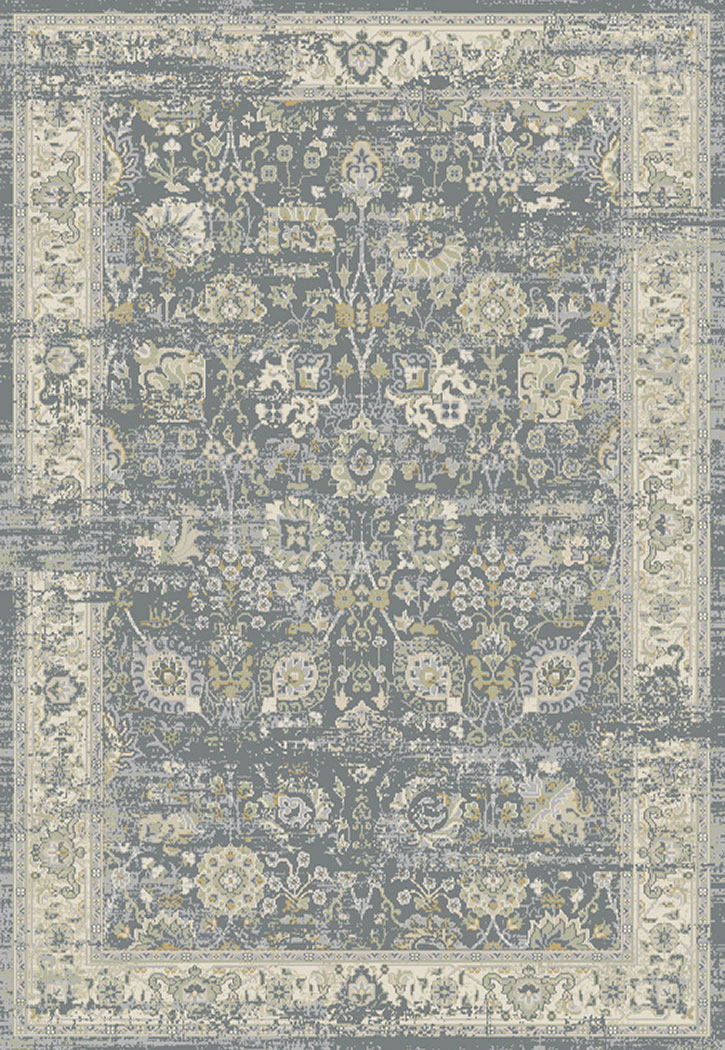 Dynamic Rugs Essence 55870 900 Light Grey Ivory Area Rug