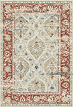 Dynamic Rugs Essence 55780-130 Ivory Red Area Rug