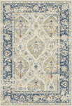 Dynamic Rugs Essence 55780-150 Ivory Blue Area Rug
