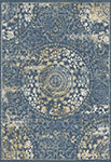 Dynamic Rugs Essence 55800-500 Dark Blue Area Rug
