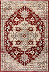 Dynamic Rugs Evolution 4770-660 Rust Area Rug