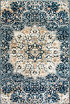 Dynamic Rugs Evolution 4772-550 Navy Area Rug