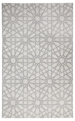 Dynamic Rugs Galleria 7862-900 Silver Area Rug