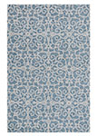 Dynamic Rugs Galleria 7861-590 Blue Area Rug