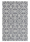 Dynamic Rugs Galleria 7864-910 Silver Area Rug