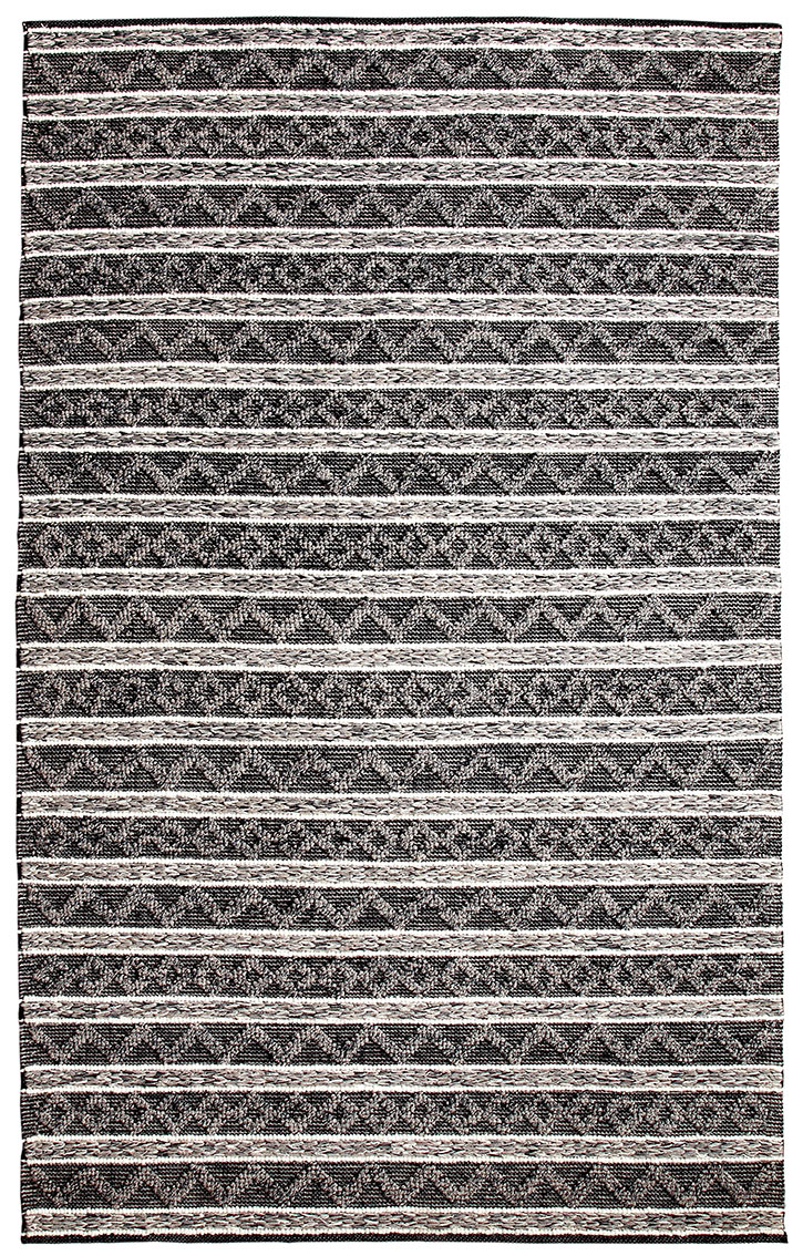 Dynamic Rug Heirloom 91004 901 Charcoal Silver Area Rug