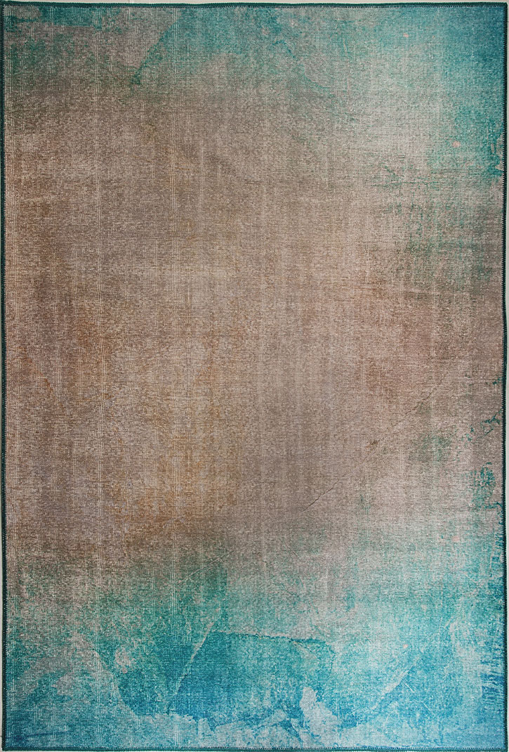 Picture of: Dynamic Rugs Illusion 8874 580 Turquoise Beige Area Rug Carpetmart