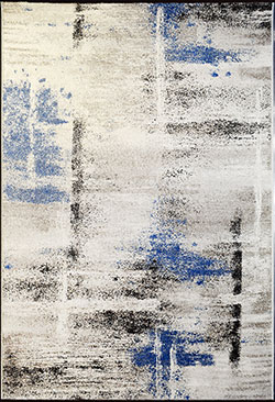 Dynamic Rugs Infinity 32114-6354 Ivory/Blue Area Rug