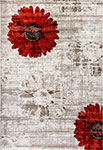 Dynamic Rugs Infinity 35009-1250 Ivory Red Area Rug