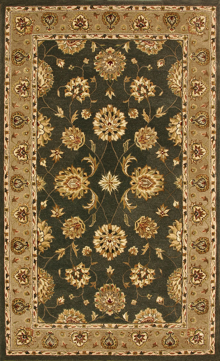 Dynamic Rug Jewel 70230 444 Green Area Rug Carpetmart Com