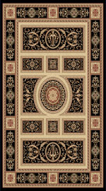 Dynamic Rugs Legacy 58021-090 Black Area Rug
