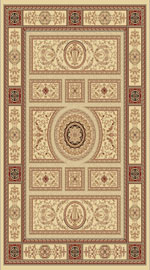 Dynamic Rugs Legacy 58021-102 Ivory Area Rug