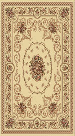 Dynamic Rugs Legacy 58022-100 Ivory Area Rug