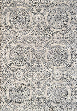Dynamic Rugs Mirage 49112-190 Ivory/Grey Area Rug