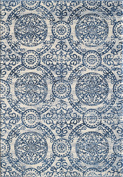 Dynamic Rugs Mirage 49112-500 Blue Area Rug