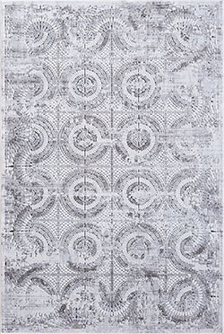Dynamic Rugs Mosaic 1663-900 Grey Area Rug