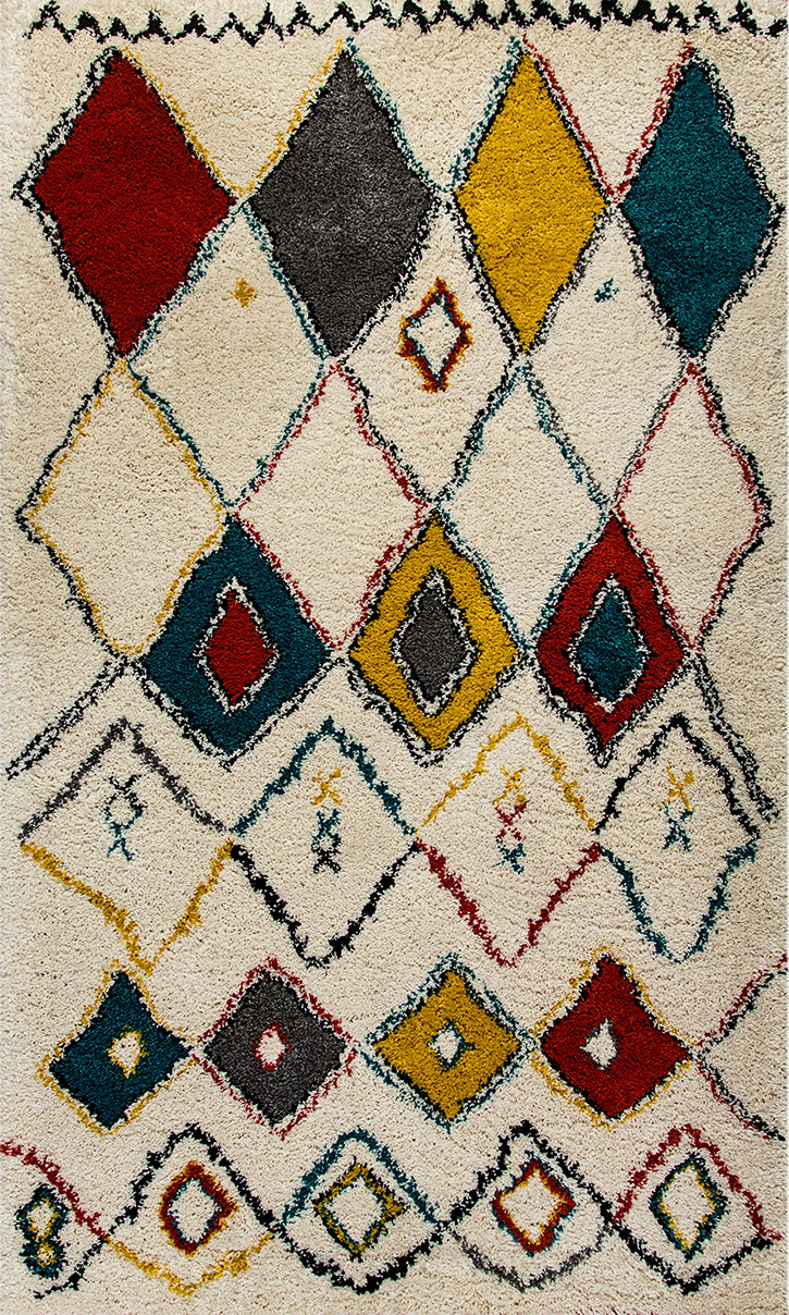 Dynamic Rugs Nomad 6246-301 Red Ivory Area Rug