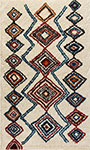 Dynamic Rugs Nomad 6229-101 Ivory Multi Area Rug
