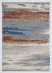 Dynamic Rugs Opal 1853-519 Rust Blue Area Rug