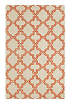 Dynamic Rugs Palace 5568-119 Ivory Orange Area Rug