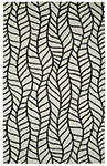 Dynamic Rugs Palace 5579-119 Black White Area Rug