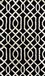 Dynamic Rugs Passion 6203-190 Black Area Rug