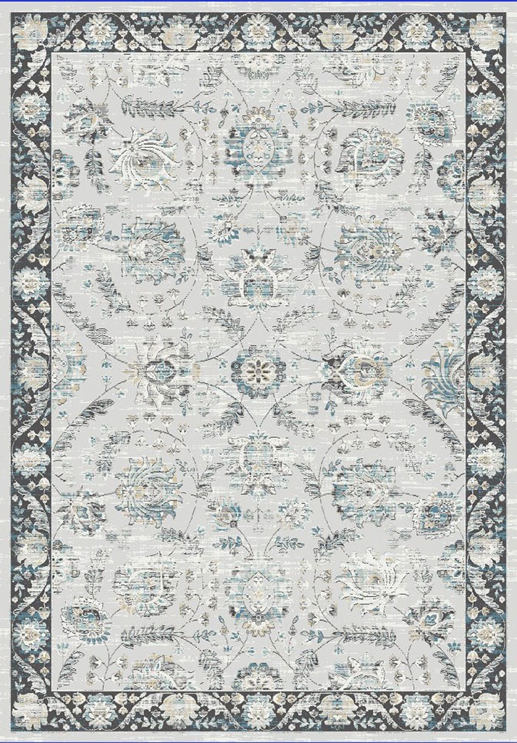 Dynamic Rugs Pearl 3740 190 Light Grey Area Rug