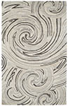 Dynamic Rugs Posh 7811-717 Ivory Grey Area Rug