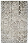 Dynamic Rugs Posh 7812-719 Ivory Grey Area Rug