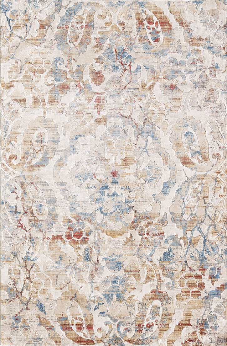 Dynamic Rugs Prism 4432-109 Ivory Multi Area Rug
