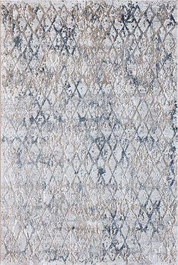 Dynamic Rugs Quartz 27039-115 Light Beige/Blue Area Rug