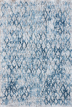 Dynamic Rugs Quartz 27039-500 Ivory/Blue Area Rug