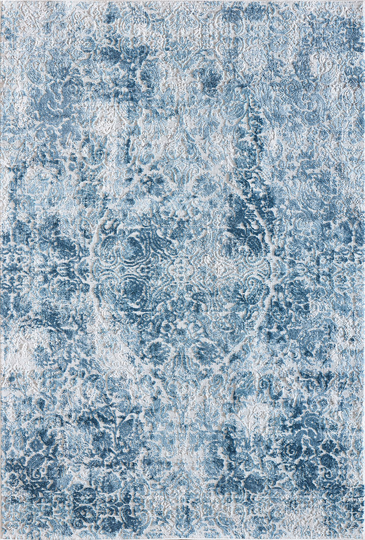Dynamic Rugs Quartz 27040 500 Ivory Blue Area Rug