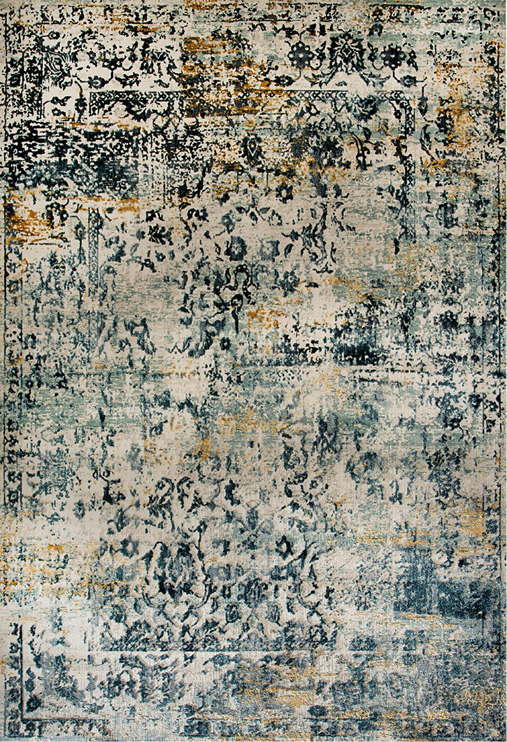 Dynamic Rug Quartz 24960 150 Light Blue Area Rug