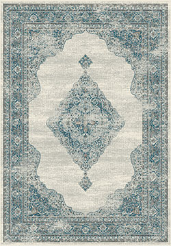 Dynamic Rugs Regal 88416-6949 Grey/Blue Area Rug