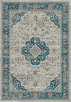 Dynamic Rugs Regal 88910-5989 Grey Blue Area Rug
