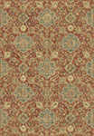 Dynamic Rugs Regal 89665-8262 Rust Blue Area Rug