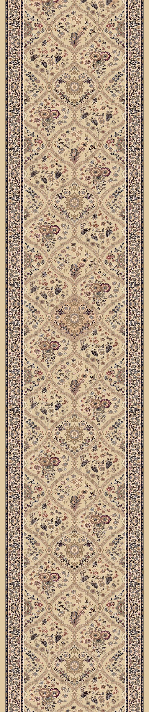 Brilliant 7211 820 Linen 2 9 Quot Wide Runner By Dynamic Rugs