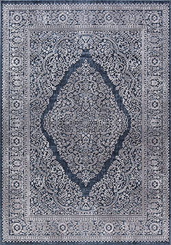 Dynamic Rugs Torino 3326-500 Navy Area Rug