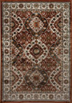 Dynamic Rugs Venice 1578-106 Rust Cream Area Rug