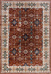 Dynamic Rugs Venice 1998-616 Rust  Area Rug