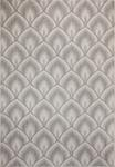Dynamic Rugs Villa 1638-109 Lt. Grey/Silver Area Rug