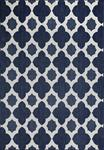 Dynamic Rugs Villa 1640-510 Navy/Ivory Area Rug
