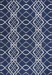 Dynamic Rugs Villa 1643-510 Navy/Ivory Area Rug